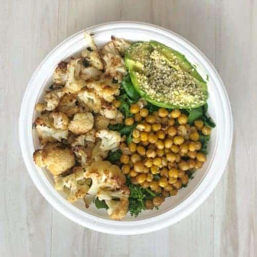 vegan cesar salad