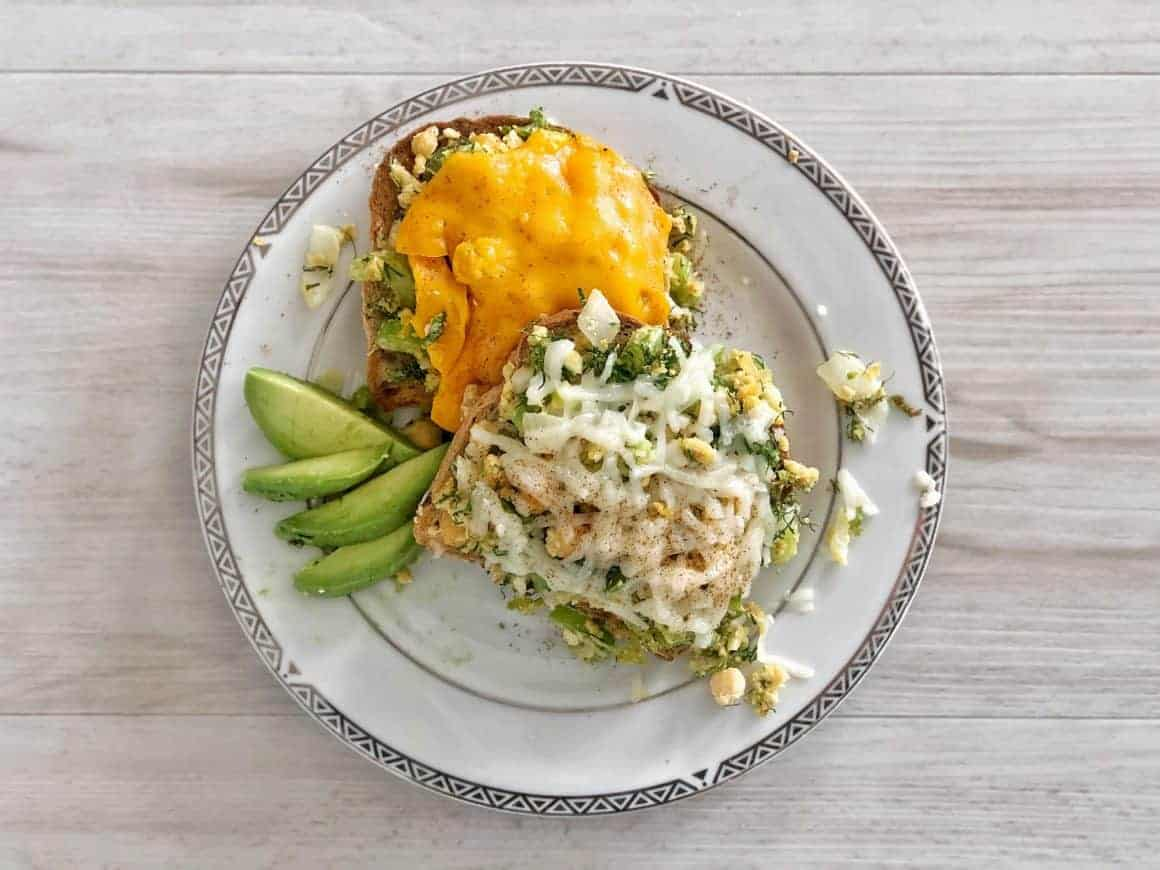 vegan tuna melt healthy recipe