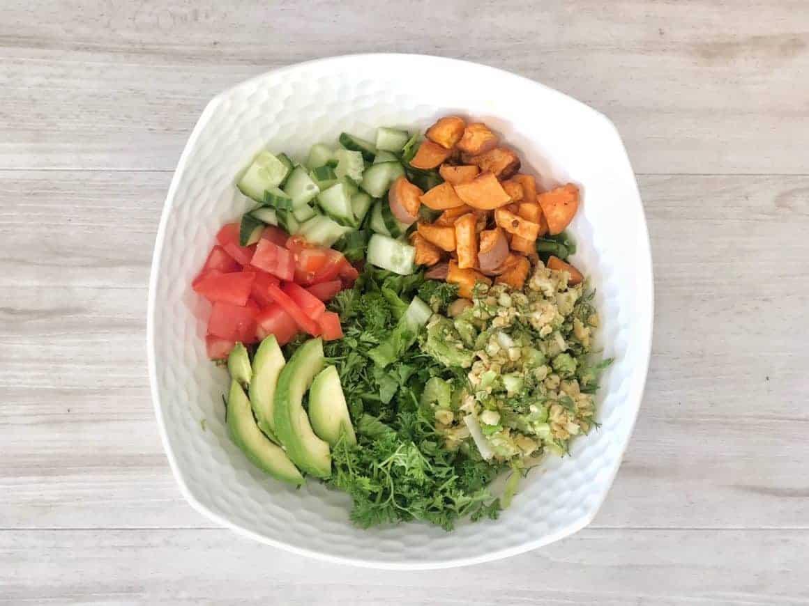 vegan salad healthy