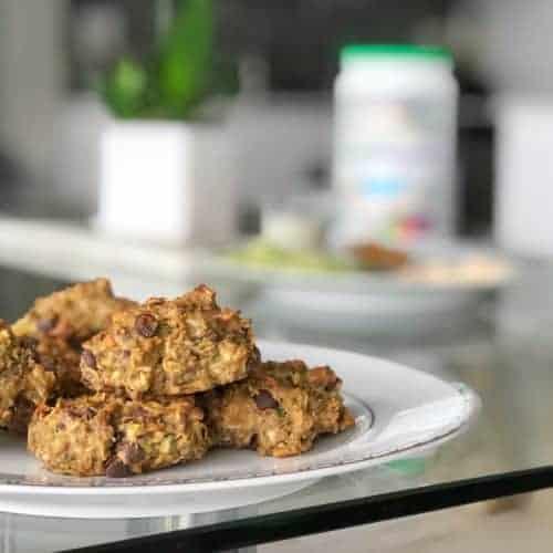 vegan sugar free chocolate chip cookies