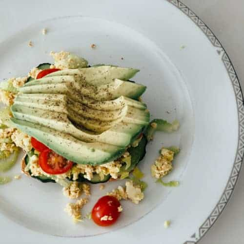 eggless salad sandwich